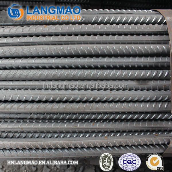 ASTM A615/BS4449 ks standard sd 390/400/500 deform steel bar