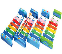 3+ ages colourful eco-friendly wood other educational toys Musical Instrument set 8 notes percussion instrument xylophone orff