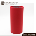 Hot Sale Red Color Round Plastic Knife Stand