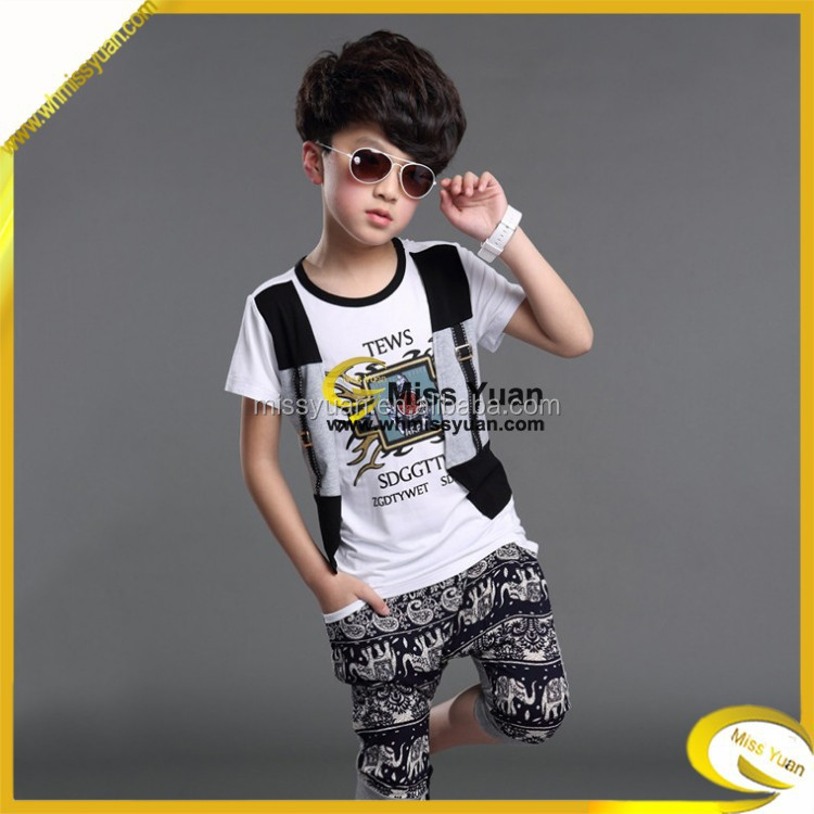 China Miss Yuan new ideas boys camouflage clothing