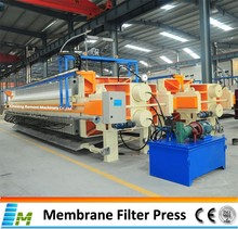 Good acid-resistancy membrane press filter for phosphatic fertilizer