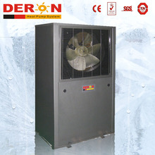 EVI low ambient air source heat pump air conditioner for resort hotel hot water heaitng and cooling
