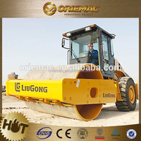 Liugong CLG614T self-propelled vibratory road roller for sale
