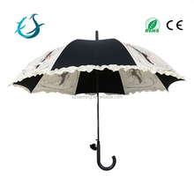 Fancy princess straight custom print umbrella buy from china manufacturer