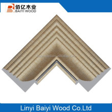 Best slaes PS Gold plastic polystyrene cheap picture frame moulding For Picture Frame