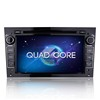 Android 4.4.4 car dvd player for opel astra h zafira vectra Corsa Zafira Quad core car stereo gps navigation 7 inch 1024*600
