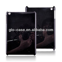Black Hard Plastic Back Cover For iPad Mini 2