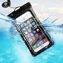Hot Sale Amazon new waterproof mobile cell phone bag pouch for swimming or outdoor