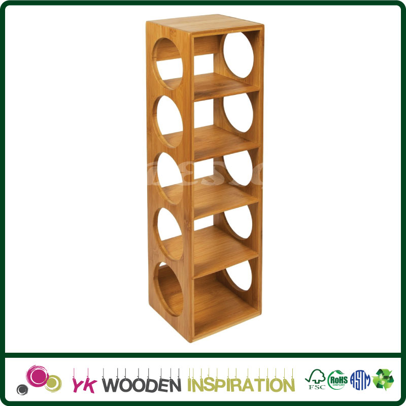Wood wine rack diy