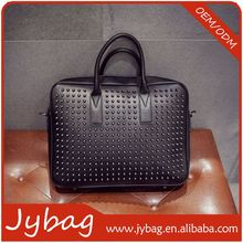Cheap hot sale promotion leather business bag briefcase for man