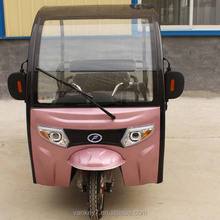 high quality low price electric 3 wheel electric sightseeing passenger car made in China/automobile/tricycle