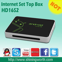 AML8726 M3 Android 4.0 cortex A9 with skype,wireless AP,PPPOE,DLNA support XBMC/hd smart android tv box dvb s2