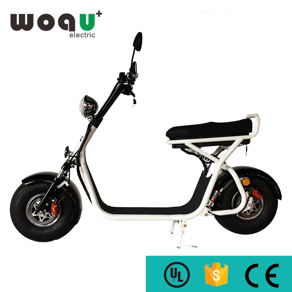 CE Certification and 6-8h Charging Time 1200w motor woqu electric scooter cheap 2 wheel woqu electric motorcycle Citycoco