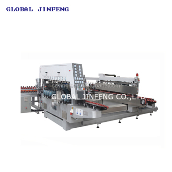 JFD-2025  PLC high speed China glass double edge grinding machine with CE