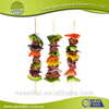 2014 High quality bbq paddle picks hors d'oeuvre picks paddle skewer ring bamboo sticks for bbq