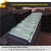 Cheap price with high quality kerala stone coated metal roof tile used concrete roof tile machine