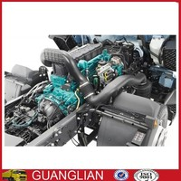 Dongfeng desel engine chassis assembly for CNG bus glod dragon bus