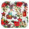 New Square Fruit Tray For Wedding Decoration, christmas tray,
