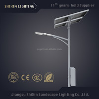 solar led modules for street light with pole price