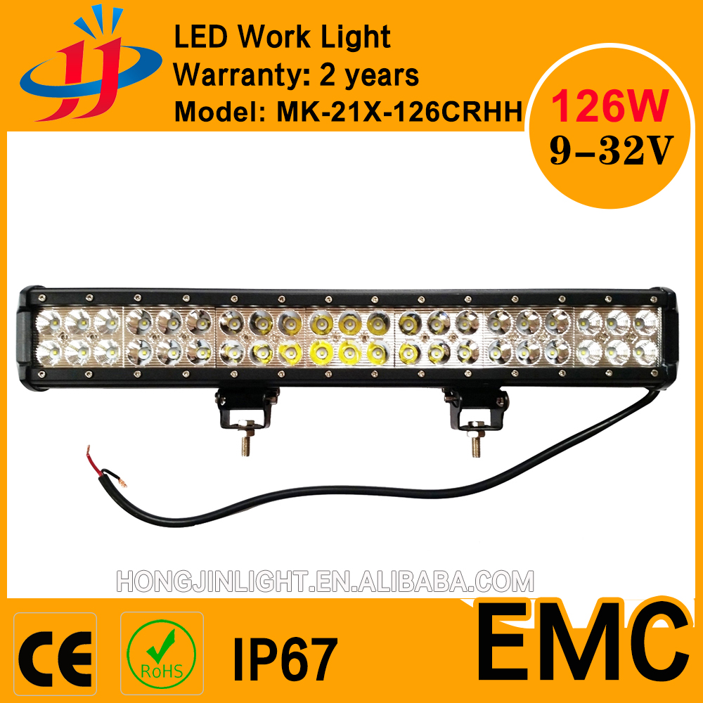 quality supplier 30000 hours working jeep accessories led work light bar CE ROHS IP67 FCC EMC ISO9001