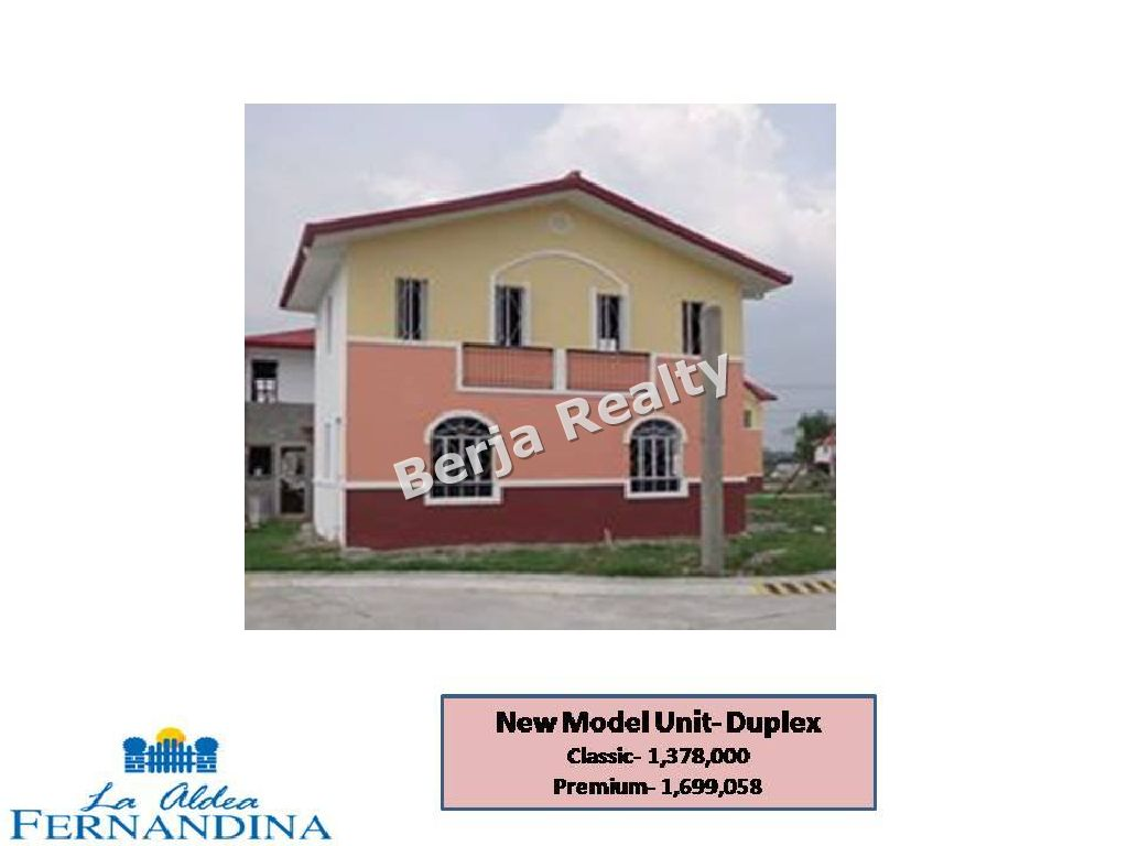 House and Lot for Sale San Fernando Pampanga, Pueblo de Oro Pampanga, Duplex, La Aldea, 2 Bedrooms House and Lot