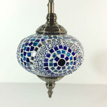 Decorative Wall Lamps China : 2015 New Desigh Turkey Lamps Handicraft Decorative Glass Pendant Light (cc1l01) Made In China ...