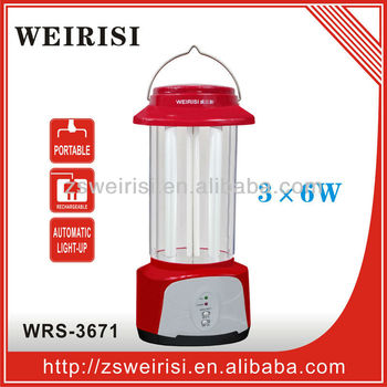 Rechargeable Holiday Emergency light (WRS-3671)