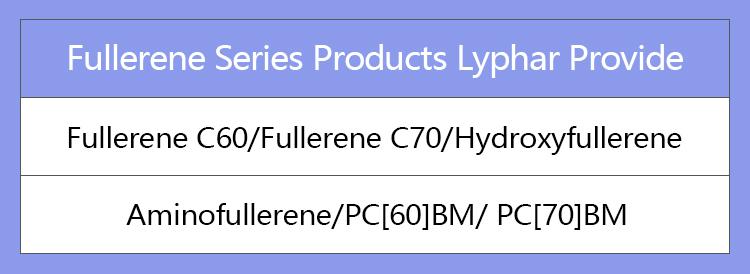 Fabricant Alimentation Haute Pureté Fullerène C60 99.9%/Fullerène C60 99%