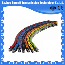 china O-ring blue/yellow colored motorcycle chain with low price