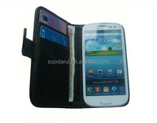 PU Leather Wallet Flip Book Style Case Cover for Samsung Galaxy S3 i9300