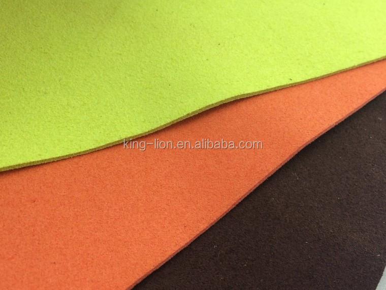 Microfiber Pu Suede Leather for Automotive interior