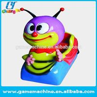 back amusement kids swing game machine Kiddy games Happy Bee amusement kiddie rides sale