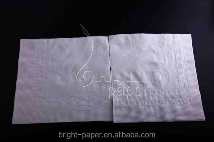 Wholesale 2 Ply/3 Ply Cotton Dinner Hotel Paper Napkin With Printing