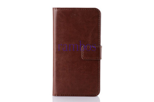 Luxury Book Style Crazy Horse Leather Case Cover Flip Wallet Shell for Samsung S3 Mini S4 S4 Mini S5 S5 Mini Note 2 Note 3