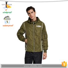 JUJIA-0991 windbreaker jacket nylon jacket wholesale