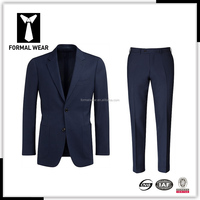 hot sale 100%wool patch pocket custom warm up suit