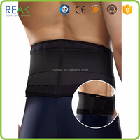 Hot selling SBS with spring stay Black waist support for back pain
