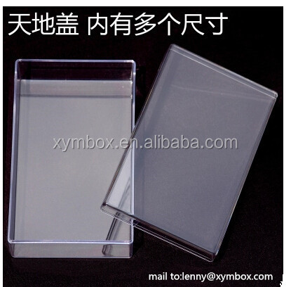 small hard plastic packaging box