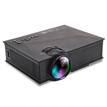 Cheapest!! portable mini projector UC46 WIFI 2.4G LCD projector