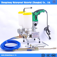 for waterproof project SL-600 with Hitachi Drill polyester resin pumps