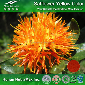 100% Natural Food Coloring Carthamins Yellow,Carthamin Yellow Color,Carthamin Yellow Pigment