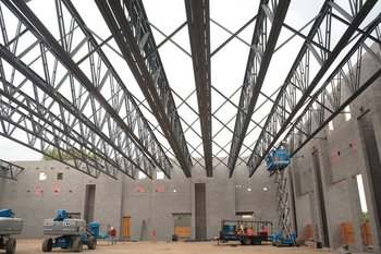 Medium steel structure trusses industrial roofing buy for Buy trusses