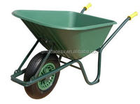 easy to use SGS farm power wheel barrow wb6414 industrial wheelbarrow