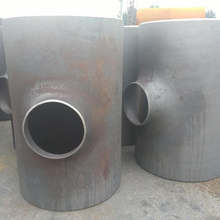 Various sizes alloy steel seamless 45 degree lateral pipe tee size