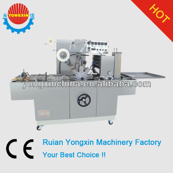 BTB-300A Wafer Box Cellophane Packing Machine