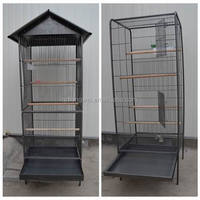 metal wire mesh parrot bird cage