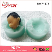 F1874 Silicone Baby Mold for Chocolate, Candy, Baking and More