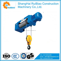 Top quality electric chain hoist,worm gear and rack