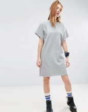 Factory Fashion Sweat Dress With Sleeve,women's clothing