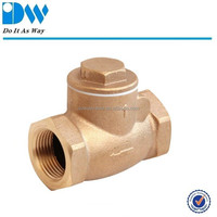 Thread End Bronze Swing Check Valve